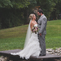 Lush Florals, Backyard wedding, Niagara wedding florist