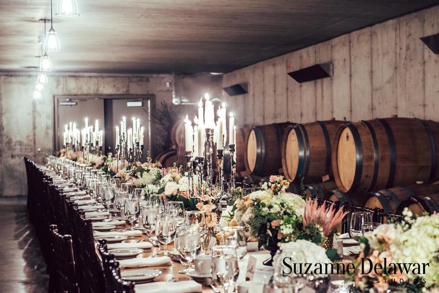 Alexandra And Sean Ravine Vineyards Winery Wedding Lush Florals And Events