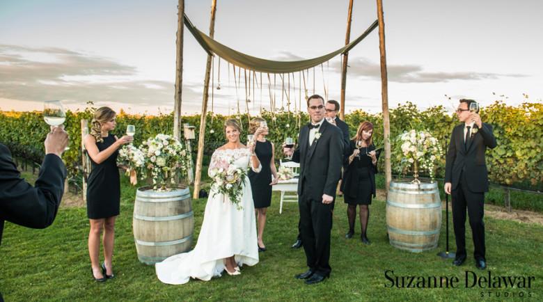 Ravine Vineyards wedding, winery wedding, Niagara wedding florist, Niagara florist, Lush Florals