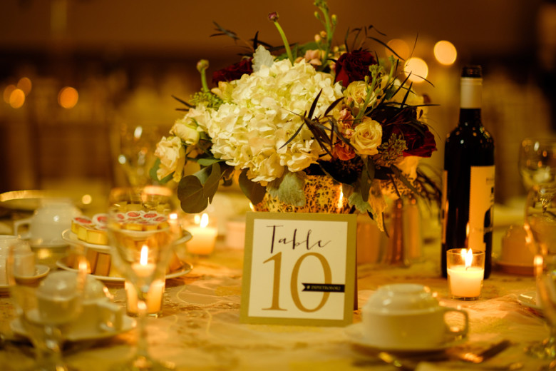 Lush Florals, Niagara wedding florist, John Michaels wedding