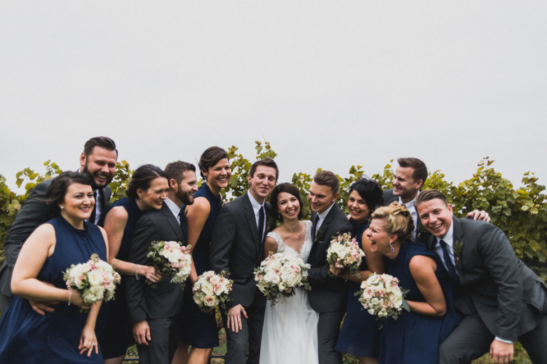 Ravine Vineyards wedding, Lush Florals, Niagara wedding florist