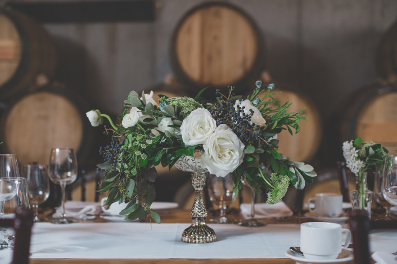 Niagara winery wedding, Lush Florals, Niagara wedding florist